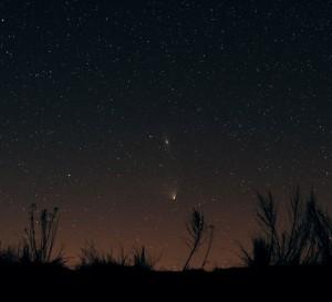 PanSTARRS og Andromeda galaksen