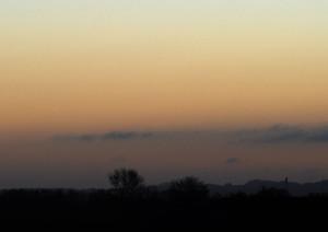 Et zoom fra det store billede, her er Venus nemmere at finde.