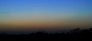 Venus om aftenen d. 21. marts 2017. Planeten var nem at se med det blotte øje.